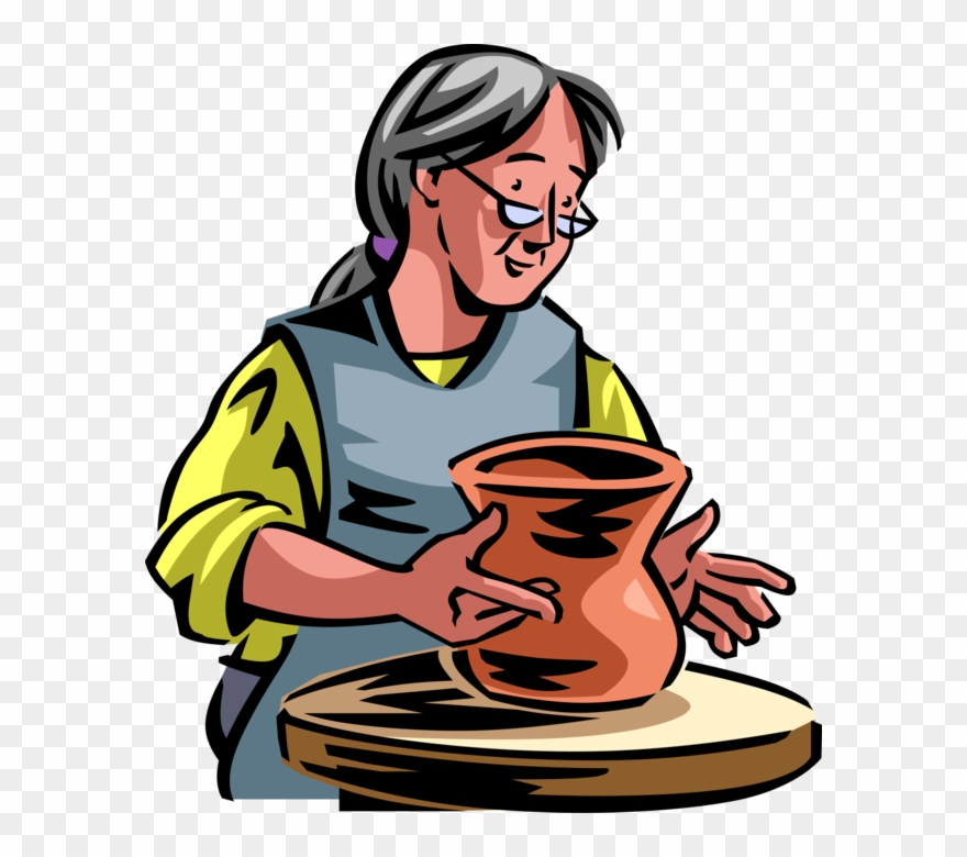 png royalty free download Potter s clay png. Pottery wheel clipart.
