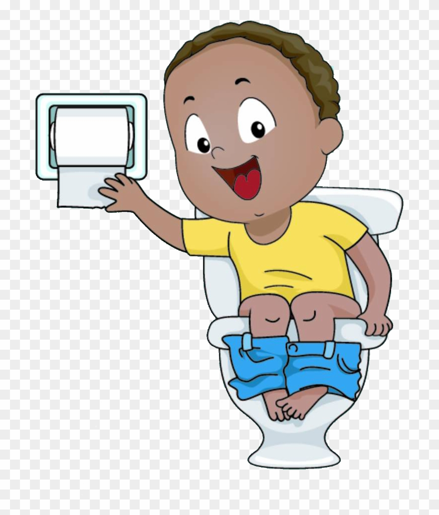 vector freeuse Clip art sitting on. Potty clipart.