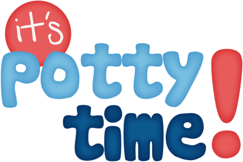 vector library stock potty time clipart #66824696