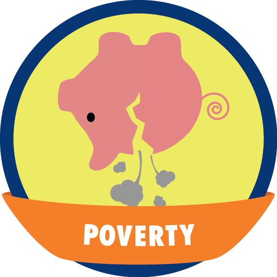 graphic freeuse download The global game changers. Poverty clipart.