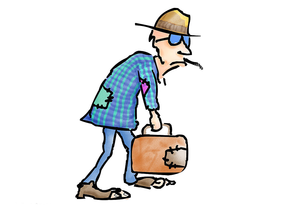 clipart freeuse download Poverty clipart unkempt