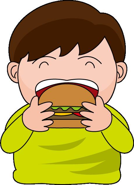 clipart transparent stock Burger Man