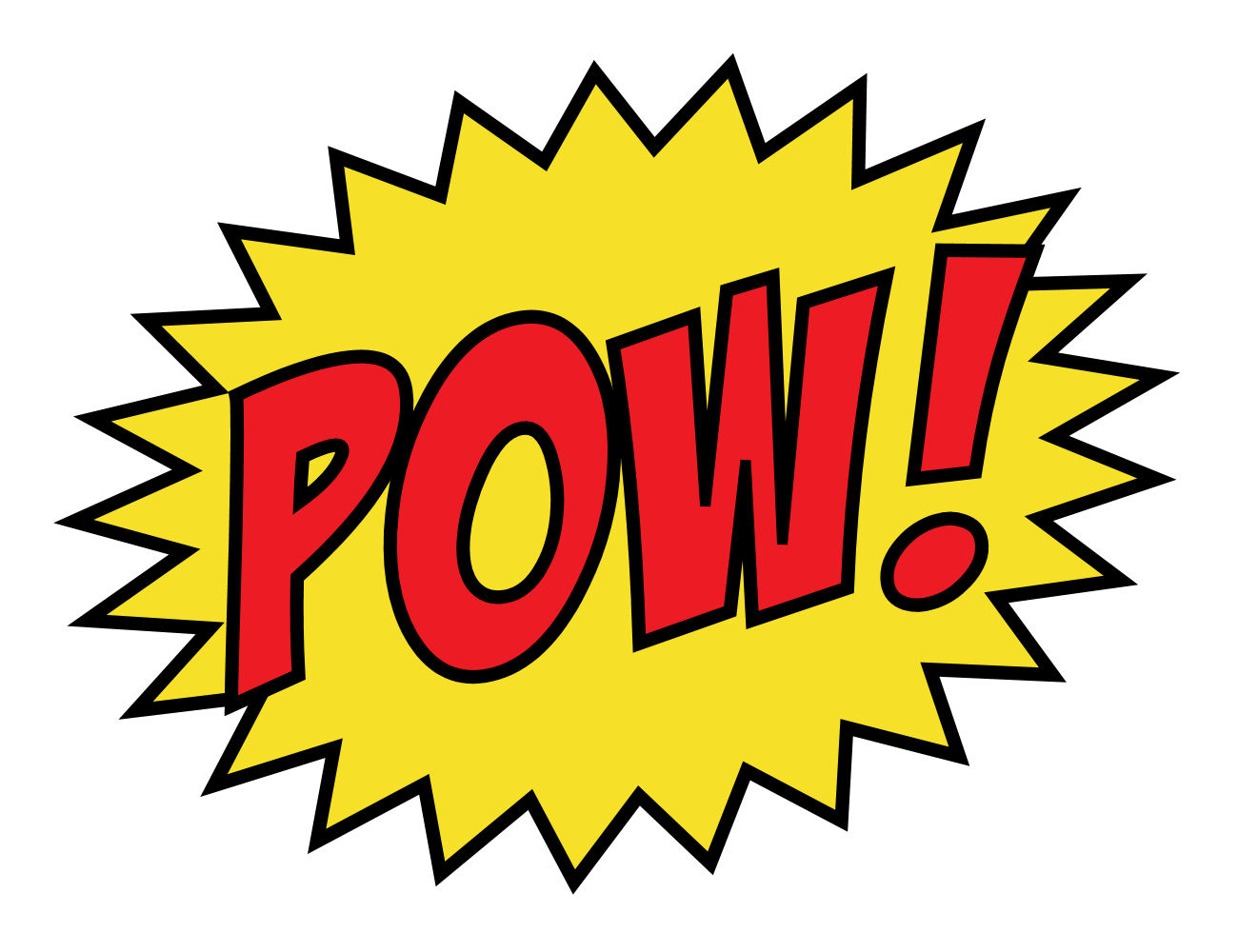 black and white stock Pow clipart. Free cliparts download clip.