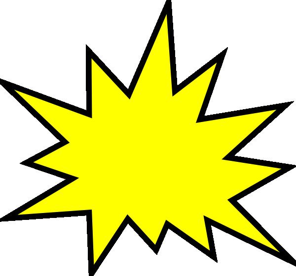 jpg freeuse stock Pow transparent yellow. Clip art at clker