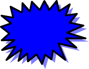 clip download Blue Explosion Blank Pow Clip Art at Clker