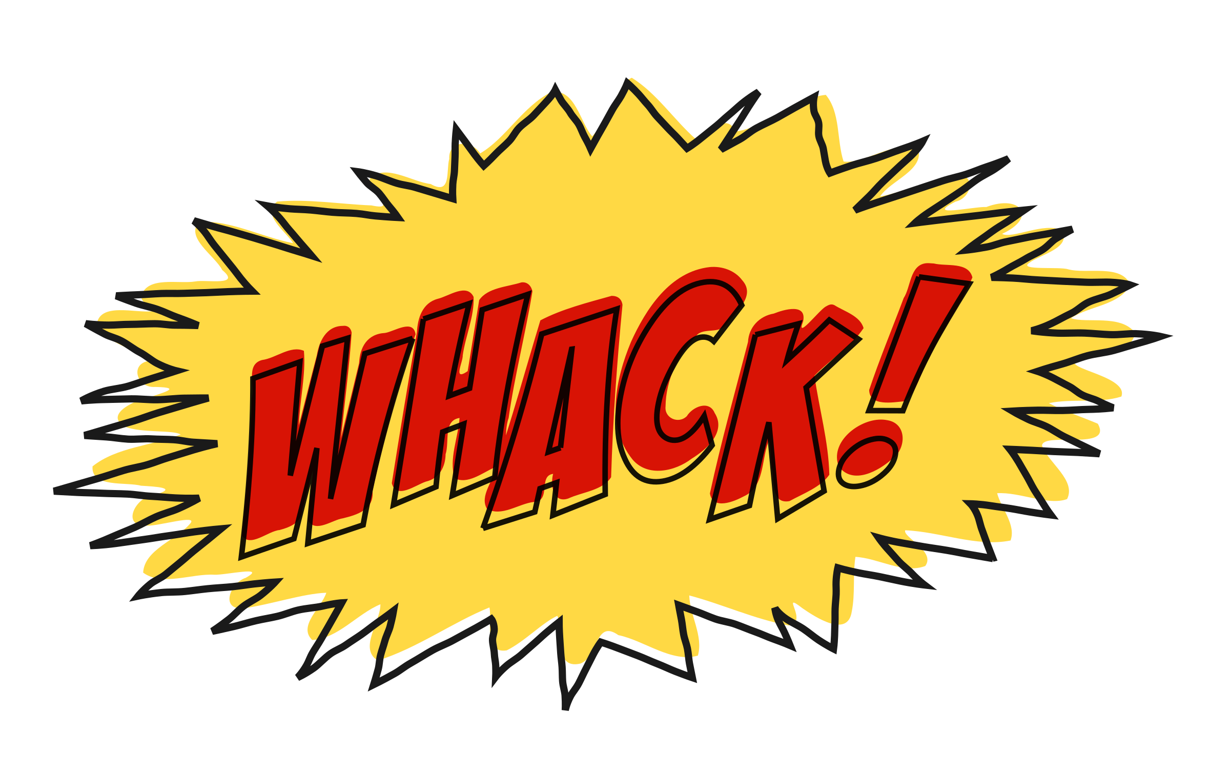 free stock Whack comic book sound effect no background Icons PNG