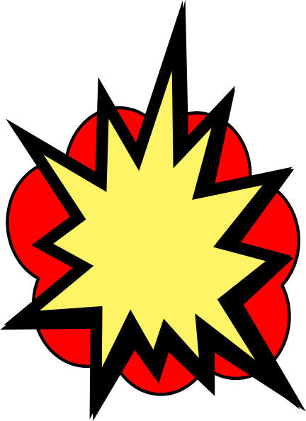 svg free library Cloud clipart superhero. Pow clip art vector.
