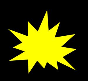 clip stock Yellow Comic Pow Clip Art at Clker