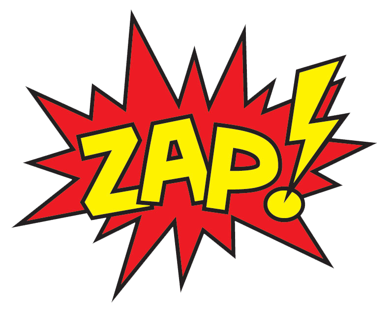transparent download Image result for batman words zap