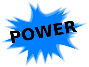 vector black and white library Clip art at clker. Power clipart.
