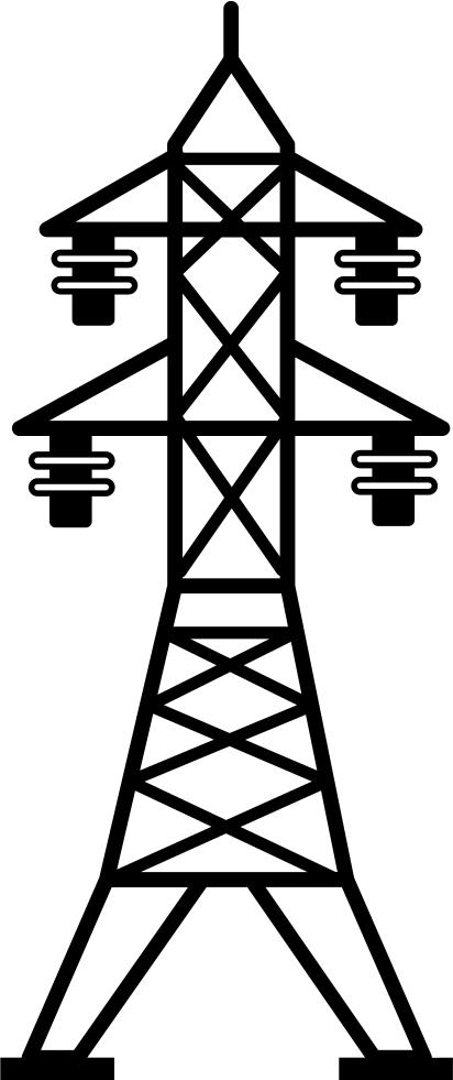 svg free Lines clipart telegraph. Power line transparent free.