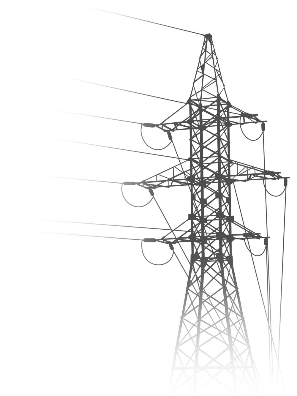 svg royalty free download Power Line Drawing at GetDrawings