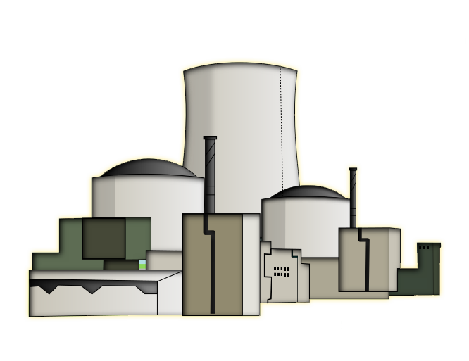 vector transparent stock Nuclear Reactor Clipart free nuclear power plant clip art social