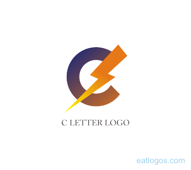 graphic freeuse download C letter power logo png download