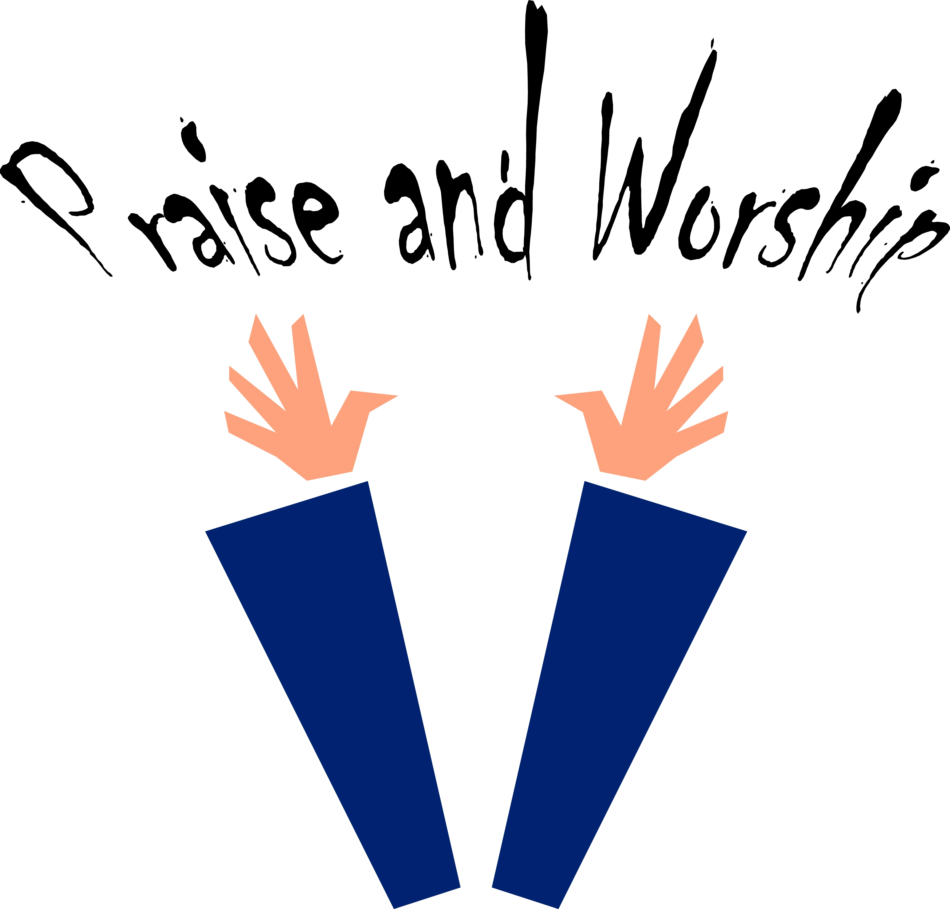 jpg library download Praise clipart. Free cliparts download clip.