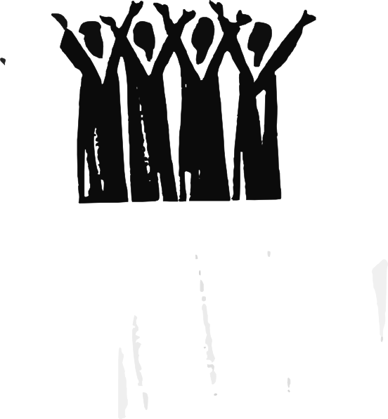 jpg download Praise clipart black and white. Clip art at clker