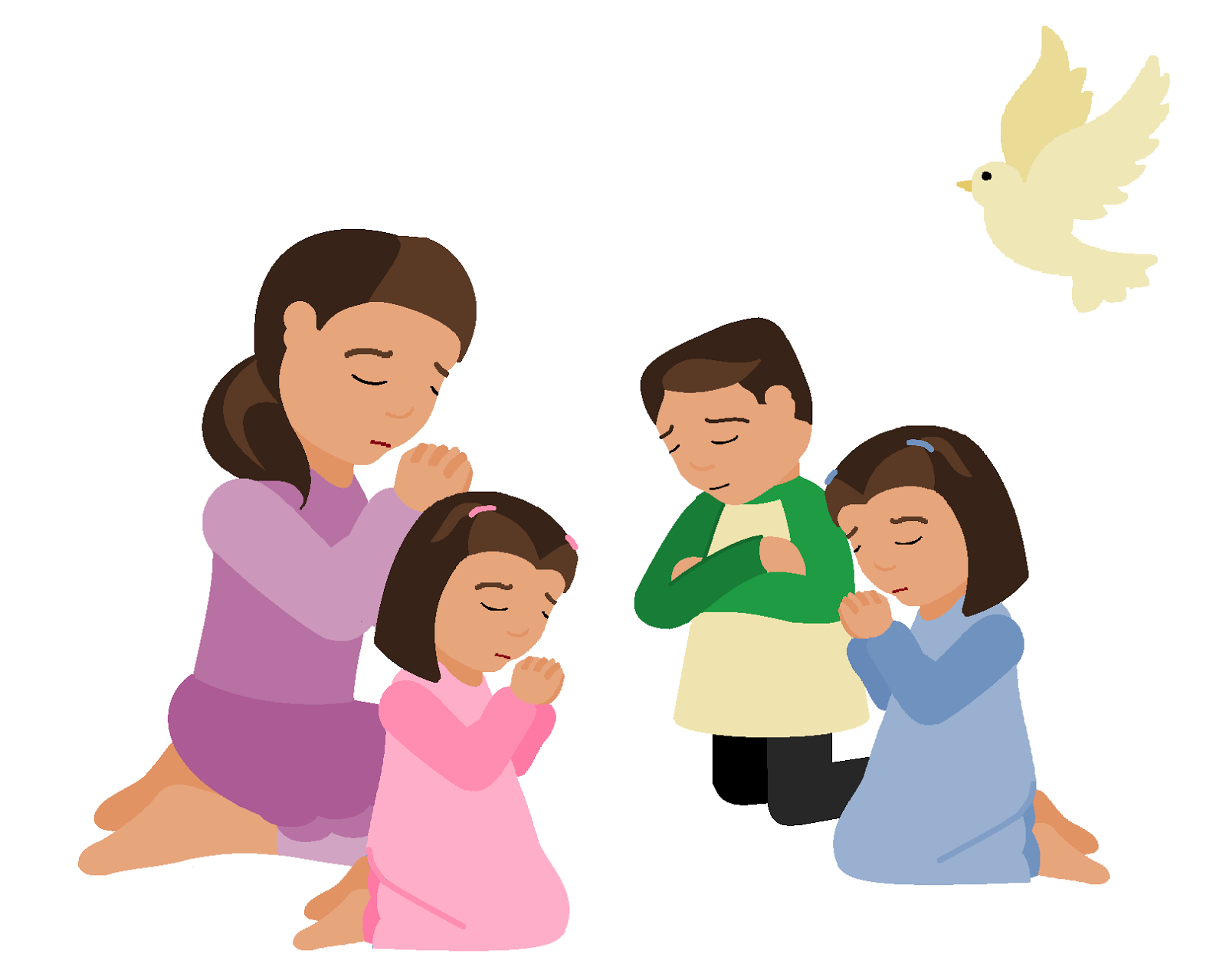 clip free download Free pictures clipartix . Kids prayer clipart