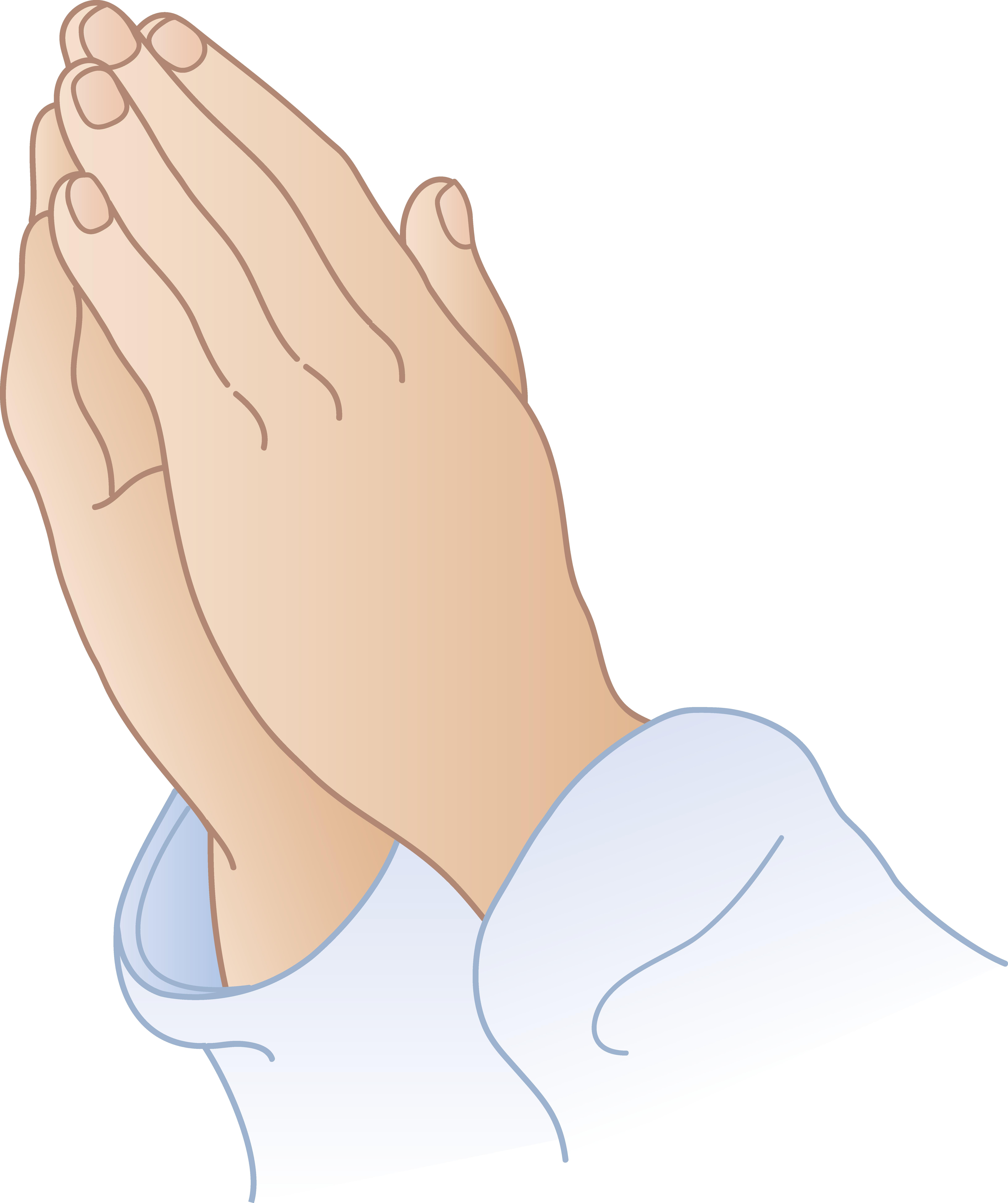 banner free download Hand Emoji Clipart pray