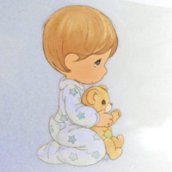 jpg royalty free download Precious moments google search. Prayer drawing baby