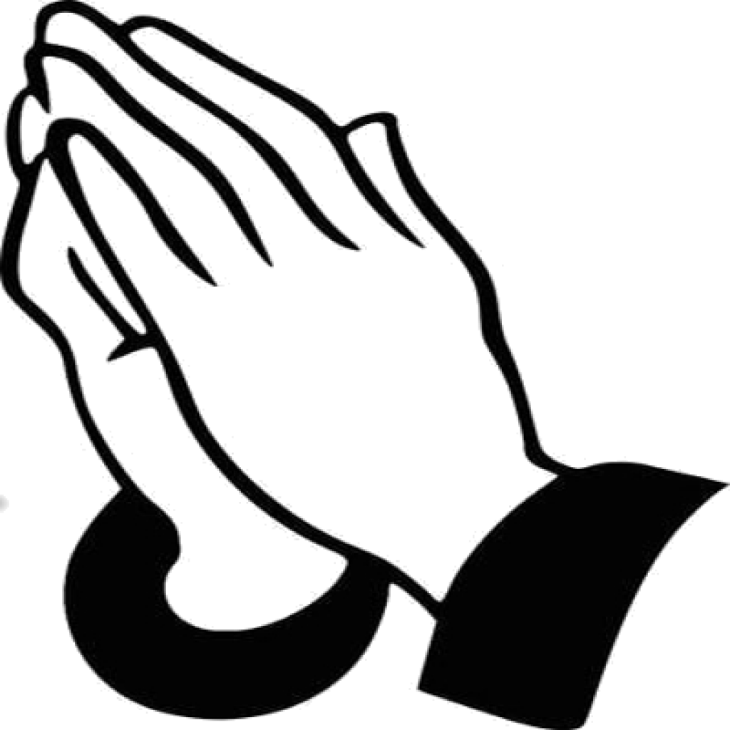 svg black and white download Praying Hands Clip Art baseball clipart hatenylo
