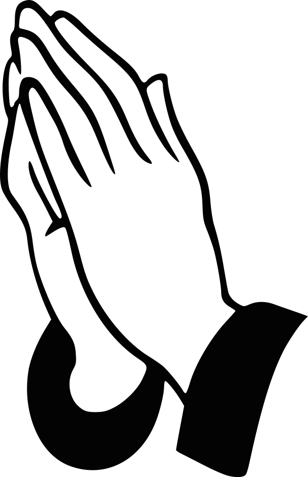 clipart library library Open hands clip art. Praying clipart.