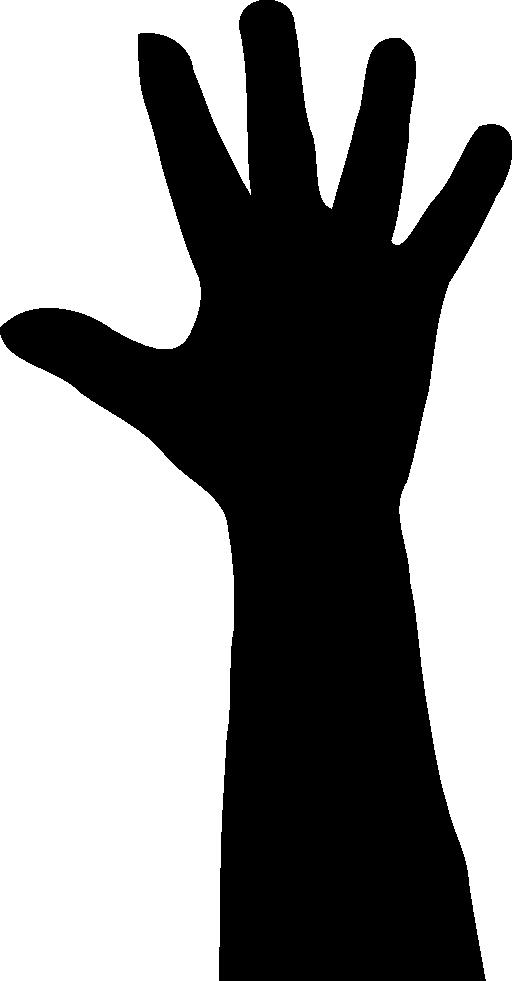 clip art transparent download Silhouette Praying Hands at GetDrawings