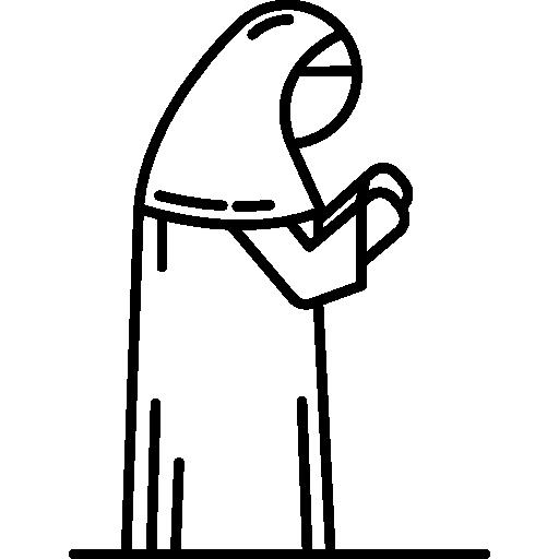 clip art transparent stock Muslim Woman Praying