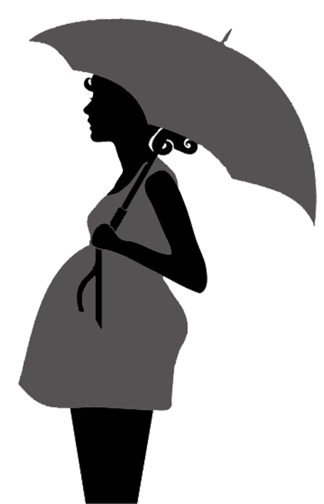 clipart library library Pregnancy clipart couple pregnant african american. Printable kissing under umbrella