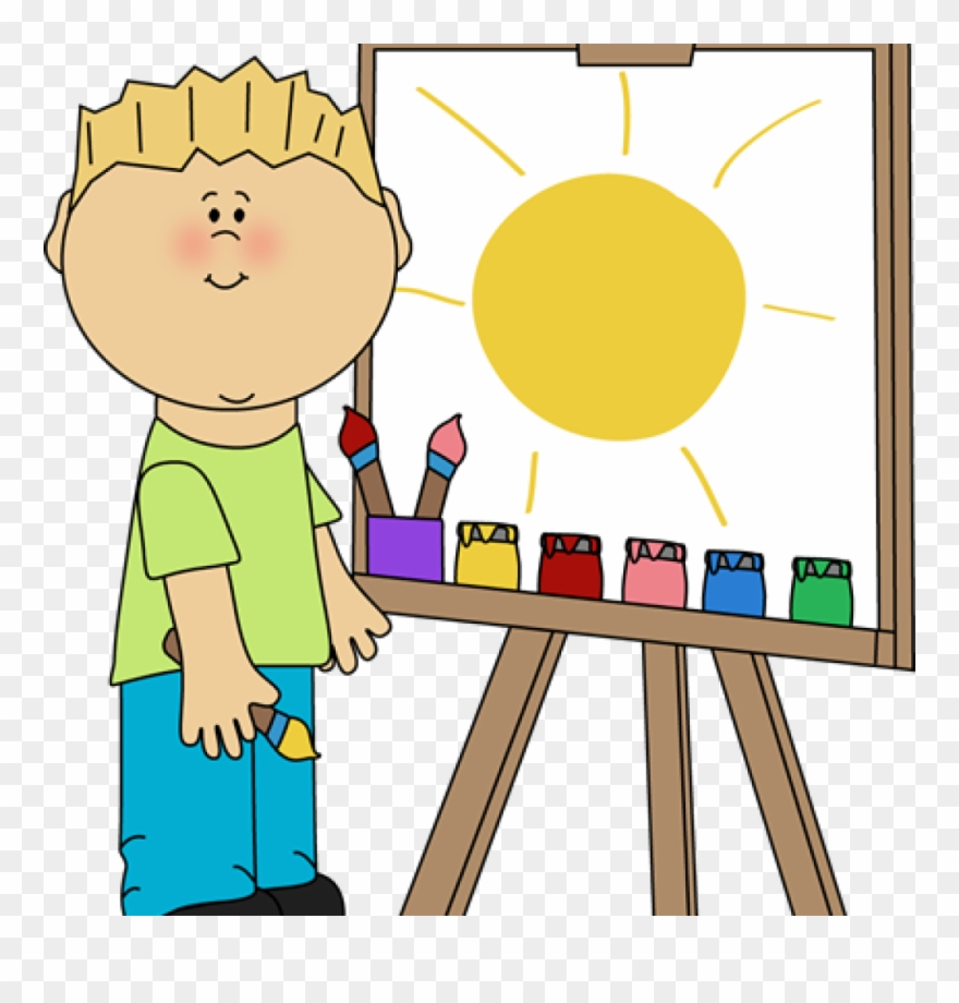 graphic royalty free Preschool art clipart. Clip class images