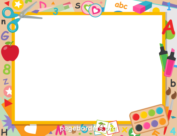png freeuse download Preschool border clipart. Pin by muse printables