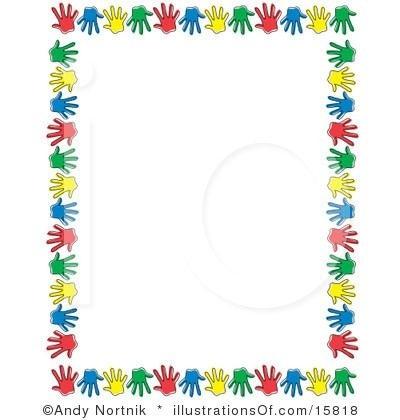 clip art Border in . Preschool clipart borders