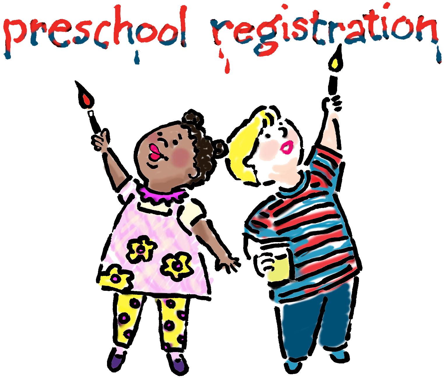 picture freeuse library Registration . Announcements clipart preschool.