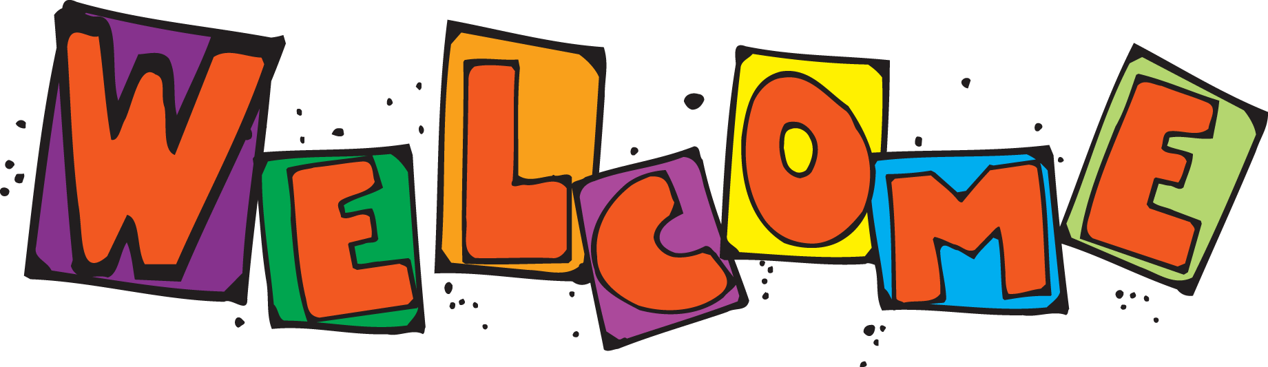 clip black and white Welcome To Preschool Clipart