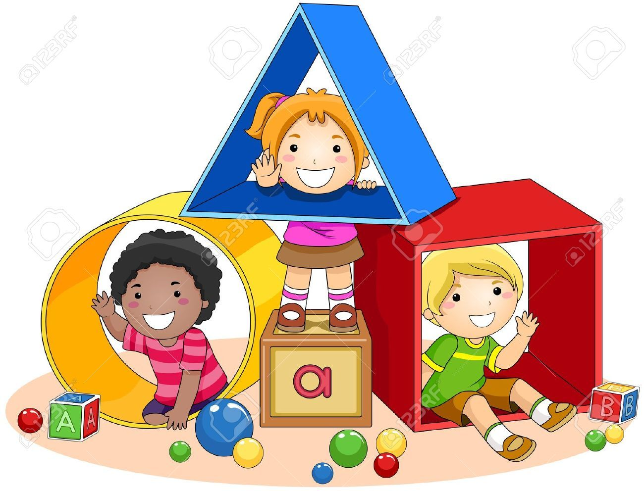 jpg black and white Preschool kids clipart. Station
