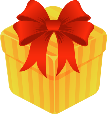 image freeuse Free gift download clip. Present box clipart
