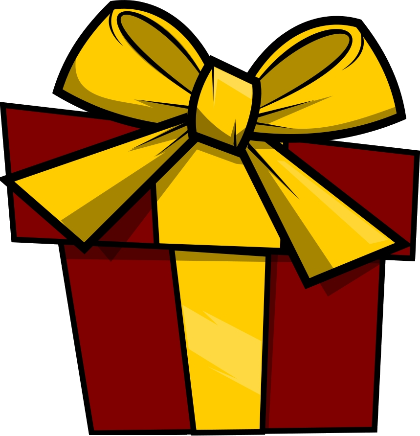image library library Birthday clip art free. Present clipart.