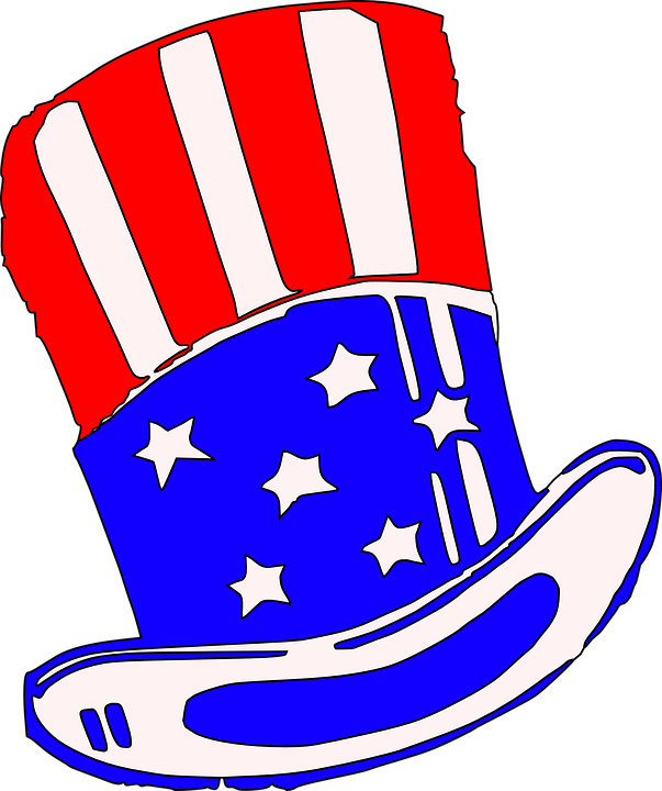 clipart transparent library Uncle Sam Clipart president hat