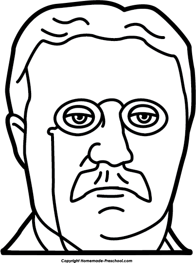 jpg royalty free stock Theodore Roosevelt Drawing at GetDrawings