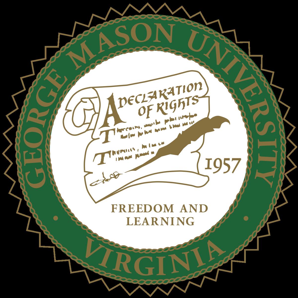graphic transparent download George Mason University