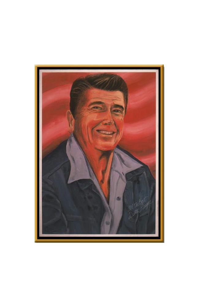 clip art library library President Ronald Wilson Reagan