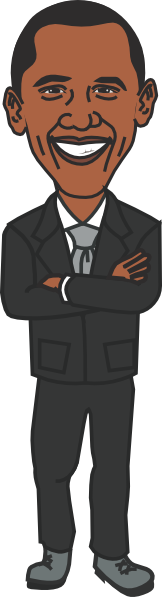 clip art black and white download Presidents clipart. Barack obama free on.