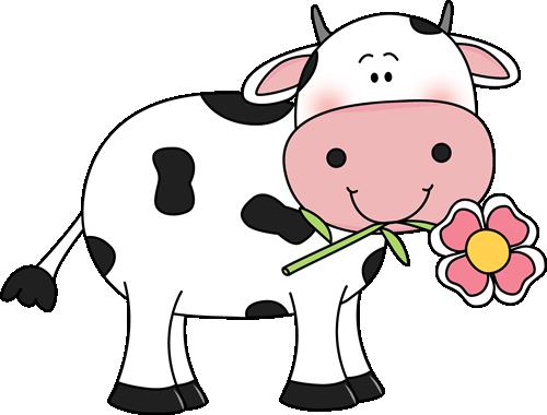 clip transparent stock Cute Cow Clipart