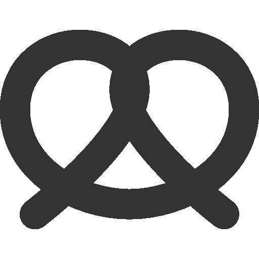 image free library pretzel icon