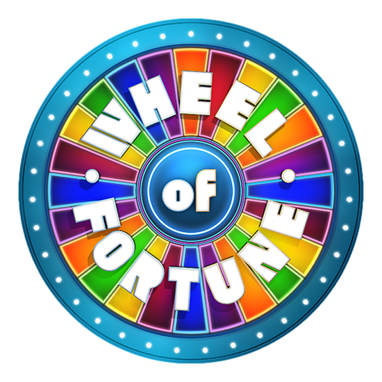 banner transparent download Of fortune be a. Price is right wheel clipart