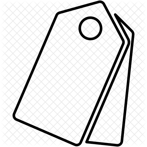 clip transparent Drawing at getdrawings com. Price tag clipart black and white
