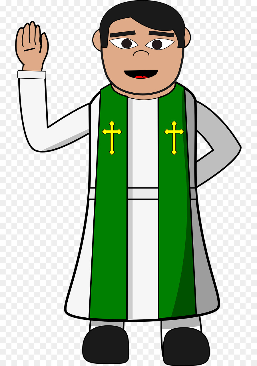 svg library download Priest clipart. Priestclip art pastor clip.