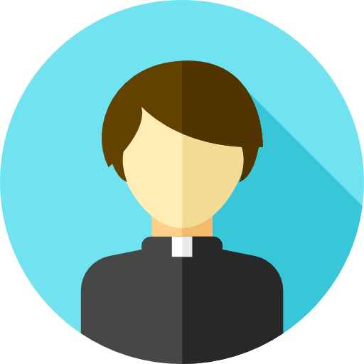 vector library Monk Clipart priest