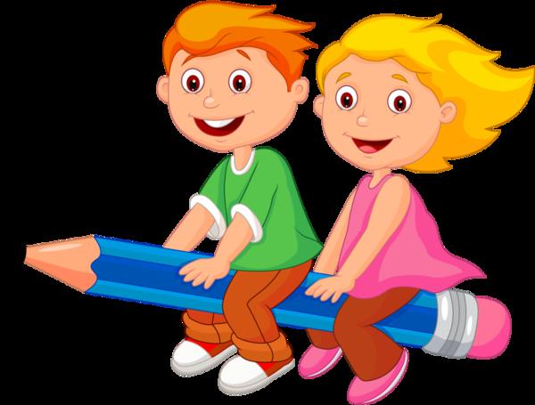 jpg transparent download Smart kids clipart. Personnages illustration individu personne