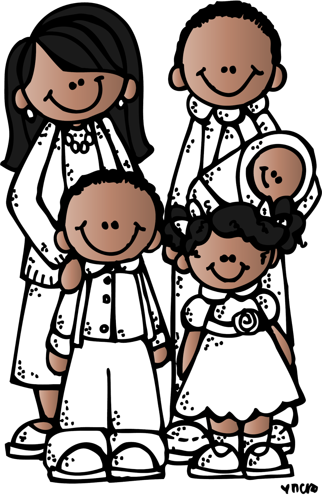 graphic free download Lds family clipart black and white. Image result for melonheadz