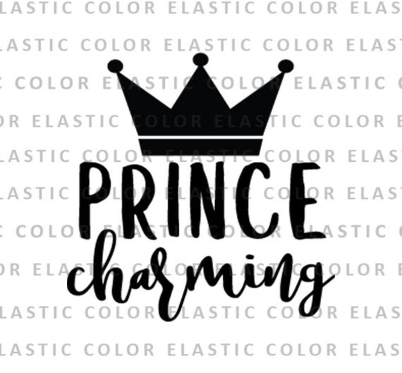black and white library Prince svg. Charming file boy graphics